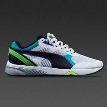 Puma R698 Ignite Old vs New Whisper Hvid Sort 362316-01 Best Sneakers 721fe25c1