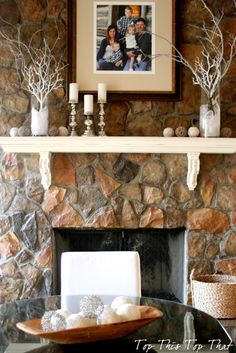 Winter Mantle by Top This Top That