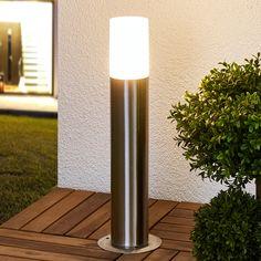 a smartwares farol de jardin led 9 w negro gpi 002 hs aluminio y luz ...