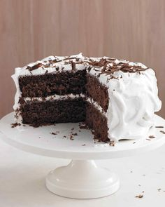 Forget boxed cake mix -- this easy recipe is worth the extra few minutes of prep time, resulting in a cake that