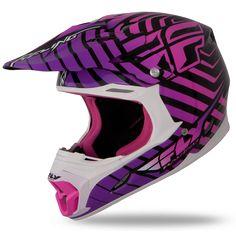 Three.4 Purple/Pink Helmet | Fly Racing