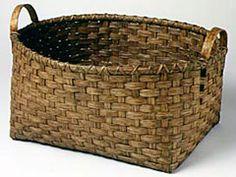 Shaker Laundry Basket   Baskets and Brooms   Shaker Workshops