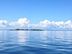 Blue Azure Caribbean Sea on the coast of Belize from Placencia. #placencia #Belize #centralamericaphotos #beautybybelize #cayesofbelize #islandsofbelize