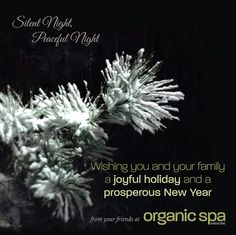 from your friends at Organic Spa Magazine