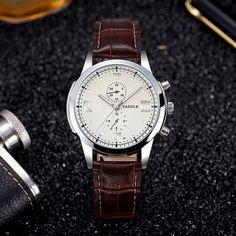 e4858446980 YAZOLE 2017 Fashion Business Wrist Watch Men Top Brand Luxury Famous Male  Clock Quartz Watch for Men Hodinky Relogio Masculino