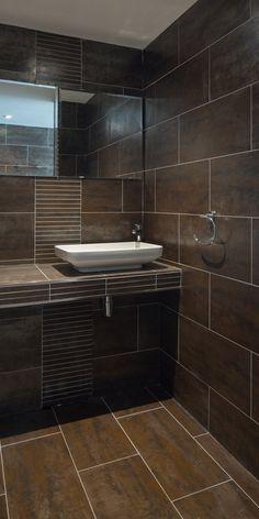 "Indian Bathroom Floor Tiles Design Pictures - Indian Bathroom Floor Tiles Design Pictures Rebekah Zaveloff, Houzz Contributor[[caption id="""" Small Bathroom Tiles, Modern Small Bathrooms, Bathroom Tile Designs, Modern Bathroom Design, Beautiful Bathrooms, Bathroom Faucets, Bathroom Ideas, Bathroom Furniture, Master Bathroom"