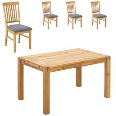 Essgruppe Royal Oak (90x140, 4 Stühle, grau) Jetzt bestellen unter: https://moebel.ladendirekt.de/kueche-und-esszimmer/stuehle-und-hocker/esszimmerstuehle/?uid=78d8ccb8-6248-5864-a00c-33cde8019fc3&utm_source=pinterest&utm_medium=pin&utm_campaign=boards #essgruppen #kueche #esszimmerstuehle #esszimmer #hocker #stuehle Bild Quelle: www.daenischesbettenlager.de