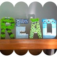 "LOVE this ""READ"" sign! Doing this!"