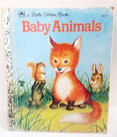Little Golden Book  Baby Animals  1956