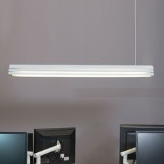 Gable Suspension by Innermost in Canada Cool Office, Offices, Flat Screen, Canada, Cool Stuff, Lighting, Architecture, Interior, Inspiration