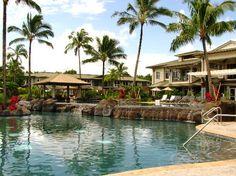 Westin Princeville Ocean Resort Villas: Pool Area  PERFECT GRADUATION PRESENT!