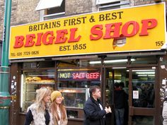 There's much debate over which of the Brick Lane bagel shops is better: The Yellow One (this one) or The White One (Beigel Bake).And you'll find patrons fiercey...