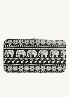 Elephant Rows Hinged Wallet | Wallets & Wristlets | rue21