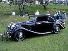 Jaguar, Mk IV DHC Vintage Sports Cars, Vintage Cars, Antique Cars, Jaguar Daimler, Jaguar Cars, Nice Cars, Thoroughbred, Old Cars, Cars And Motorcycles