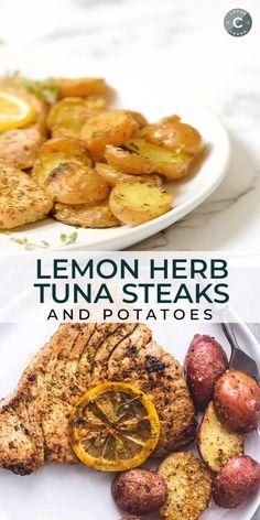 Tuna Steak Recipes, Fish Recipes, Seafood Recipes, Mexican Food Recipes, Soup Recipes, Cooking Recipes, Salad Recipes, Instant Pot Dinner Recipes, Easy Dinner Recipes