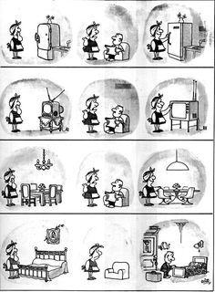 Everything & Nothing: Quino - Bien gracias, ¿y usted? (Well Thank You, and You? Pure Fun, Everything And Nothing, Humor Grafico, Teaching Spanish, Comic Strips, Illusions, Hilarious, Pure Products, Comics