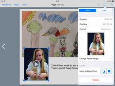 This is an example of how powerful Book Creator can be as a tool for students. These ASL sign language ebooks are fantastic!