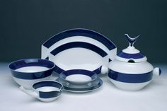 Sargadelos (ceramics from Sargadelos - Galicia, Spain) - I so love these ceramics! These platters are beautiful.