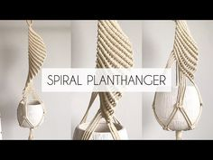 One of the easiest Macrame projects to get started with is a plant hanger. Decorate your house on a budget with 16 easy DIY Macrame plant hangers for beginners! Crochet Plant Hanger, Macrame Plant Hanger Patterns, Macrame Plant Holder, Macrame Patterns, Macreme Plant Hanger, Rope Plant Hanger, Plant Hangers, Macrame Design, Macrame Projects