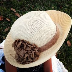 So pretty... lovely new hat for Spring.  https://www.facebook.com/pages/Elinors-Cupboard/222897244404367?ref=hl