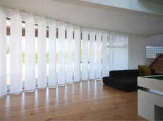 Panel Track Blinds   Window Treatments For Sliding Glass Doors   Blinds For Patio  Doors   Blinds For Large Windows | Dining Room | Pinterest | Patio Door ...