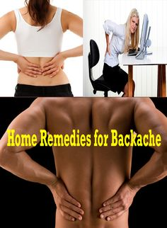 Home Remedies for Backache | Remedies Corner