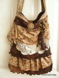 Gypsy Bag large Shab