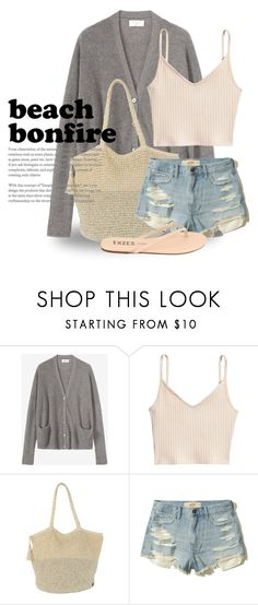 """Summer Nights: Beach Bonfire 4217"" by boxthoughts ❤ liked on Polyvore featuring Billabong, Hollister Co. and beachbonfire"