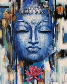 Dorable Acrylic Painting On Canvas Gautama Buddha Painting Vishal Phasale Artzolo regarding [keyword Buddha Artwork, Buddha Wall Art, Buddha Wall Painting, Buddha Canvas, Religious Paintings, Indian Art Paintings, Buda Painting, Budha Art, Acrylic Painting Canvas