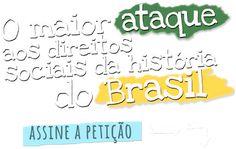 AMO VOCÊ EM CRISTO: ALERTA!!!!   O MAIOR ATAQUE AOS DIREITOS SOCIAIS D...