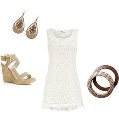 Summer Clothes -- such a cute dress!