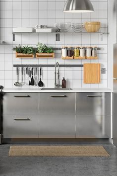 Best Metal Ikea Kitchen Cabinets … Forever House Steel… 400 x 300