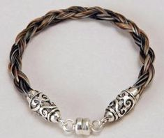 HORSEHAIR BRACELET | Horsehair Bracelet Made From YOUR horsehair