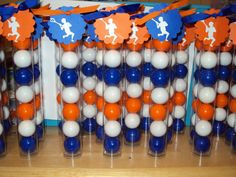 12 Lacrosse Themed Gumball Favor Tubes with by SweetlyIntoxicating, $30.00