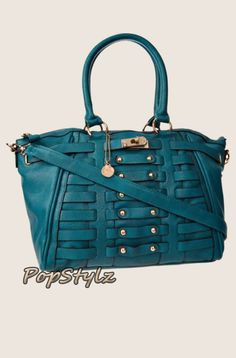 BIG BUDDHA Alexis Satchel Handbag