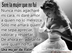 Mujer de valor...