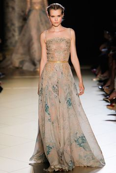 Elie Saab Fall 2012 Couture Fashion Show - Josephine Skriver (IMG)