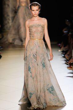 Elie Saab Fall 2012 Couture Fashion Show - Josephine Skriver (IMG)