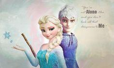 Jelsa Wallpaper Jack Frost Elsa Frozen