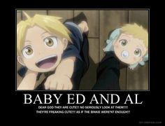 Baby Ed and Al!! - Fullmetal Alchemist