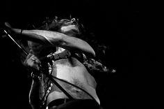 Led Zeppelin, Musikhalle Hamburg, März 1973: Robert Plant  Copyright: Heinrich…