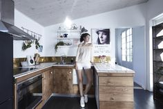 A Chanteuse and a Dancer Turned Furniture Designer at Home in Copenhagen