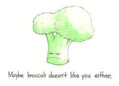 Eat plants! Paleo fruit & veg broccoli