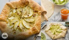 Apple Brie and Hazelnut Galette