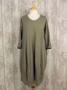 Made In Italy Leven Dress Mocha