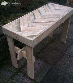 Pallet Foldable Table Pallet Desks & Pallet Tables