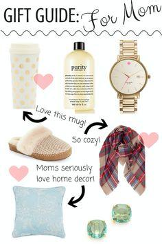 Christmas Gift Guide: For mom