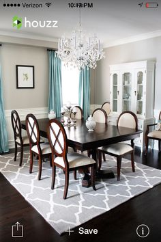 Love this for a formal dining room!