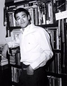 Bruce Lee had his own library on the fighting and philosophical arts.
