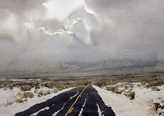 Robert Highsmith: Road Into Winter